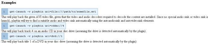 轉貼] Gstreamer 中的playback插件@ 轉貼部落格:: 痞客邦::